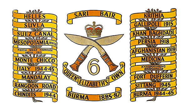 6GRA Battle Honours