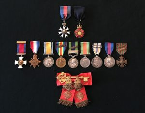 Colonel Cecil John Lyons Allanson CMG CIE DSO medals